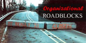 Smash your organizational roadblock Photo courtesy of www.simplilearn.com