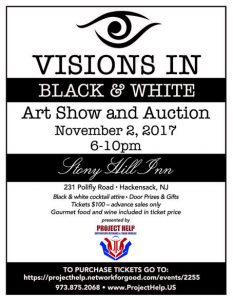 Support our Veterans at Visions in Black and White Fundraising @ Stony Hill Inn