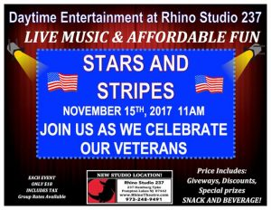 Rhino Theatre Group Daytime Entertainment - Stars and Stripes @ Rhino Theatre Mainstage