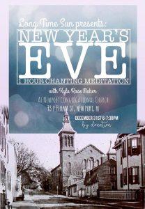 New Years Eve 1 Hour Chanting Meditation @ Newport Congregational Church