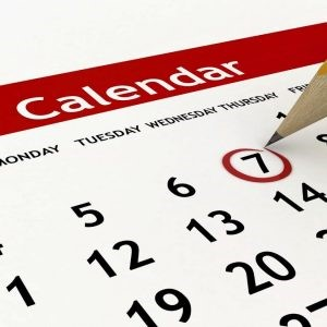 Is your business calendar up to date?