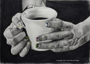 Adara's Hands by Sean David Wright
