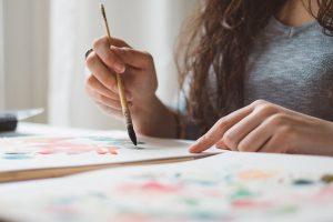 painting closeup