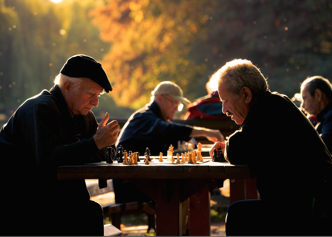 the mental agility required of chess is one of the benefits of continued learning